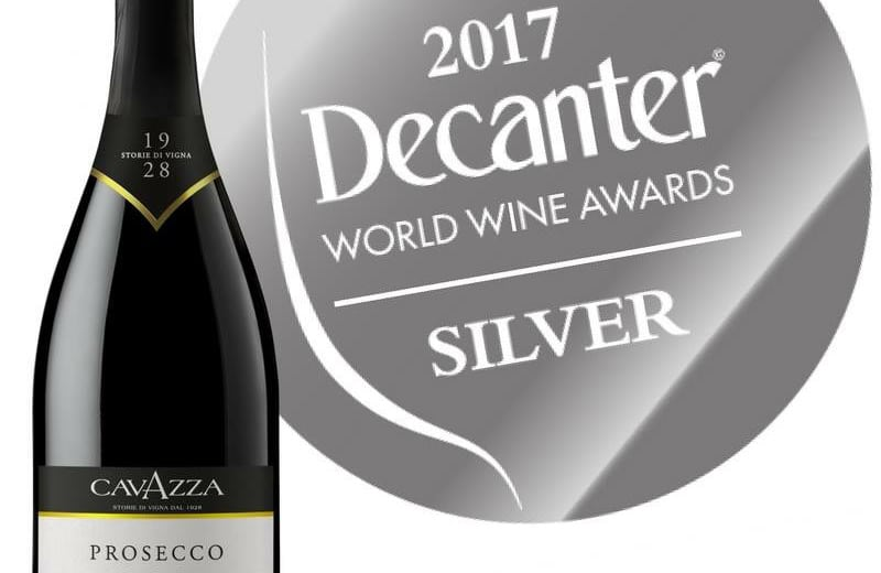 premio decanter prosecco cavazza