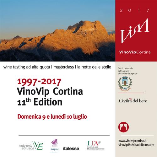 Cavazza a VinoVip Cortina 2017